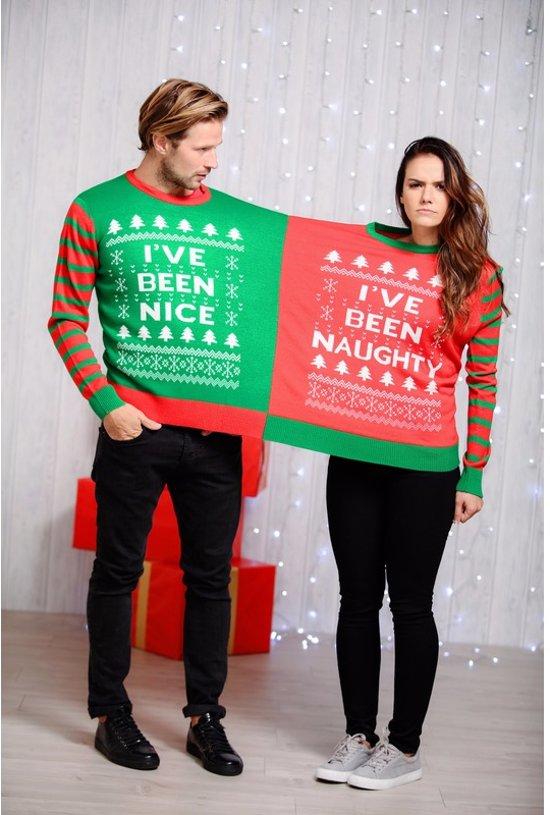 Foute Kersttrui C En A.Bol Com Foute Kersttrui Voor Twee Personen Met Grappige Tekst