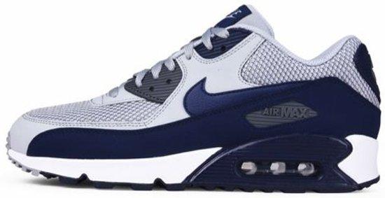 4099410a733f Nike Air Max 90 Essential Wolf Grey   Binary Blue