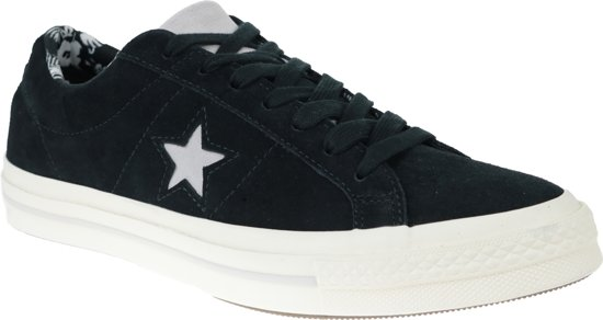 converse one star zwart