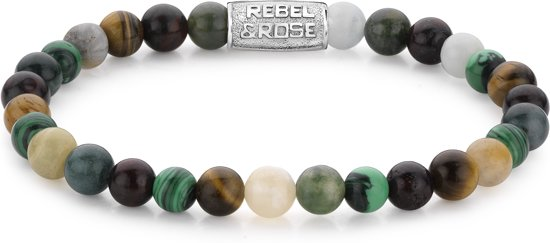Rebel&Rose armband - More Colours Than Most - 6MM S (16,5CM)