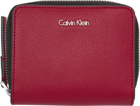Portefeuille Calvin Klein Noir « De Trame Moyenne » d95EvUa