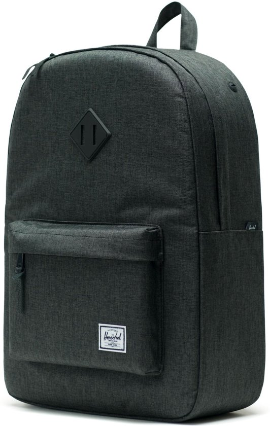 15 Black Laptopvak Inch Co Herschel Heritage Supply Rugzak Crosshatch HRBSw