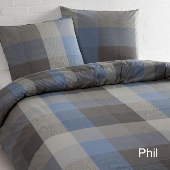 Day Dream Phill - dekbedovertrek - eenpersoons - 140 x 200/220 - Blauw
