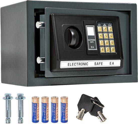 Tectake 400564 Elektronische kluis - 5 kg
