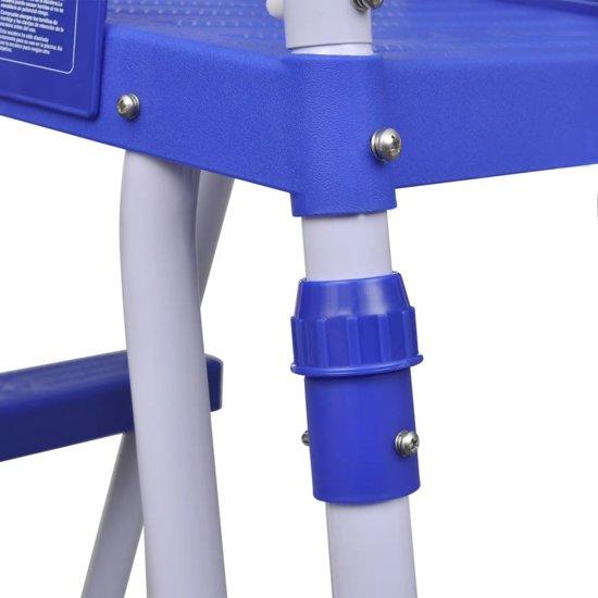 Bestway veiligheidsladder voor zwembaden met stalen frame