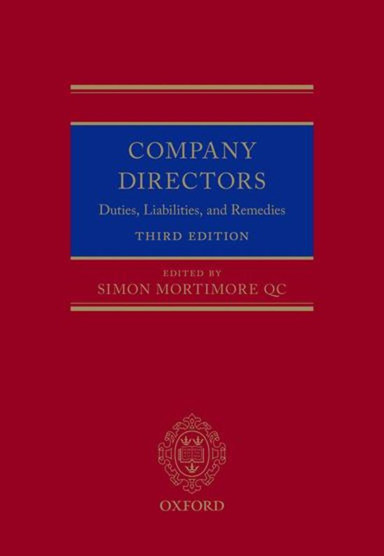 company directors duty and remedies