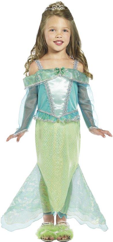 Zeemeermin jurk | Kinderverkleedkleding meisje maat 3-4 jaar (104-110)