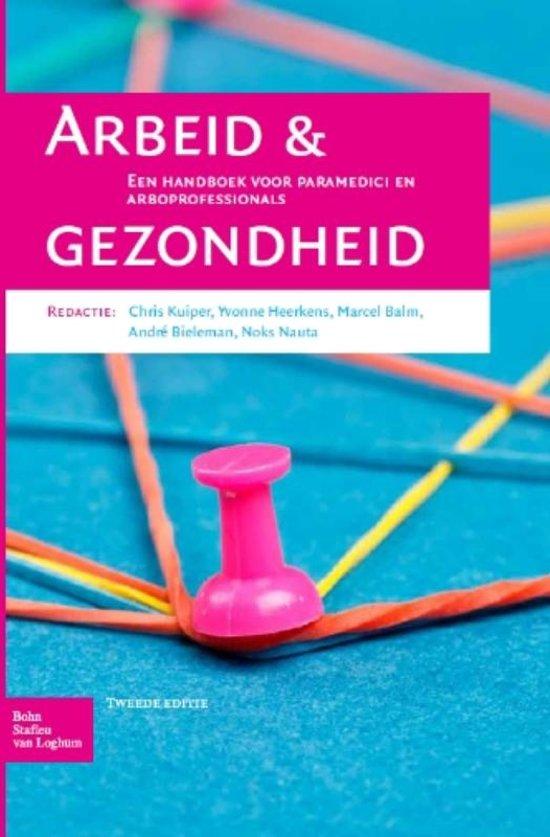 Boek cover Arbeid en gezondheid van  (Paperback)