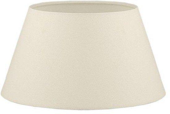 Light & Living COTTON Drum - lampenkap - Ø35 cm - Creme