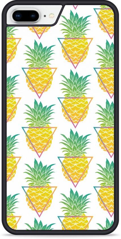 iPhone 8 Plus Hardcase hoesje Pineapple