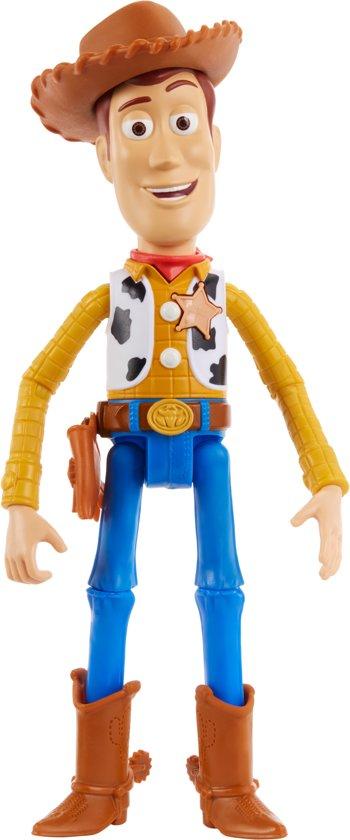 Afbeelding van Toy Story 4 Pratende Woody 18 cm - Nederlandstalig speelgoed