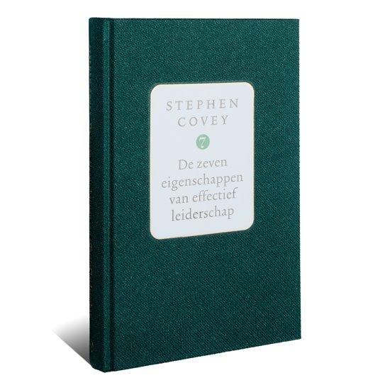 Boek cover De zeven eigenschappen van effectief leiderschap van Stephen R. Covey (Hardcover)