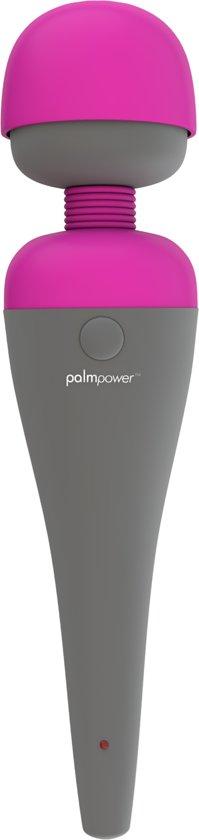 Palmpower Wand Vibrator met verwisselbare kop - Roze