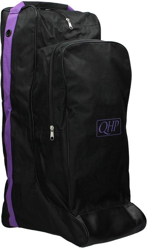 QHP Combi Laarzentas-captas - Black/Purple - Onesize