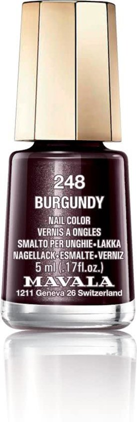 Mavala - 248 Burgundy - Nagellak