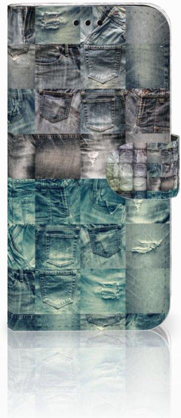 Samsung Galaxy J5 2017 Uniek Boekhoesje Spijkerbroeken