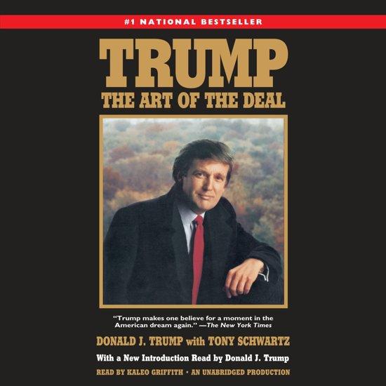 Boek cover Trump: The Art of the Deal van Donald J. Trump (Onbekend)