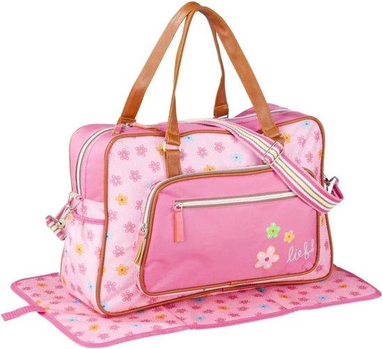 187f8557e64 bol.com | Lief! Luiertas verzorgingstas roze