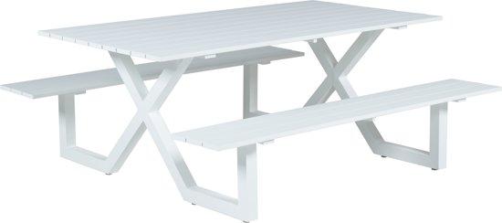 Picknick Tafel Aluminium.Bol Com Garden Impressions Napels Picknicktafel 180x170