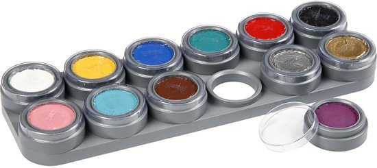 Grimas Water Make-Up - 12 Palette A