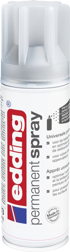 edding 5200 permanent spray universele primer grijze