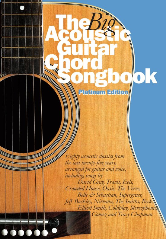 Bol The Big Acoustic Guitar Chord Songbook Platinum Edition