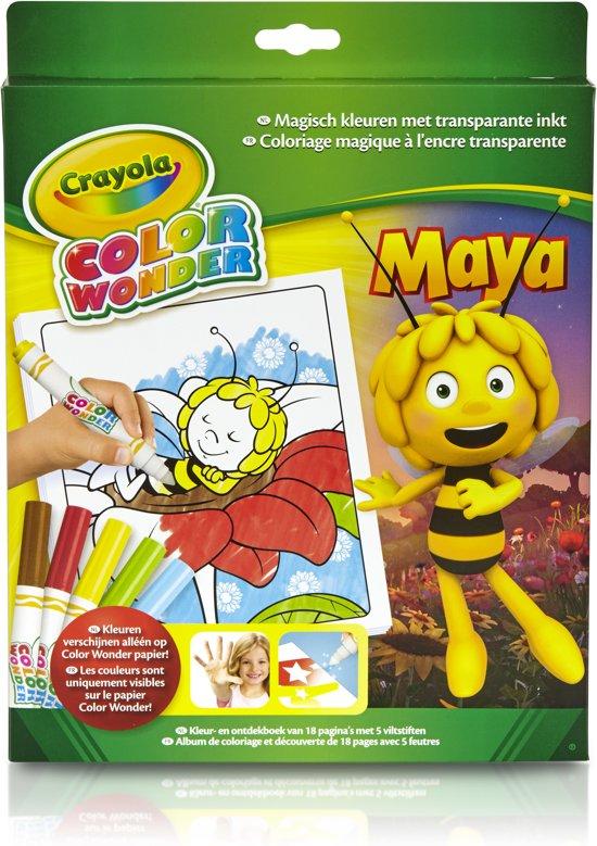 Color Wonder box set Maya de Bij - Kleurboek incl. 5 Stiften