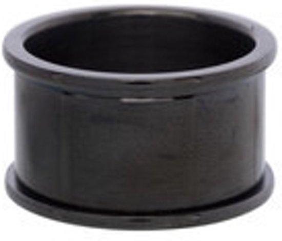 IXXXI Basisring zwart 12mm - maat 20,5