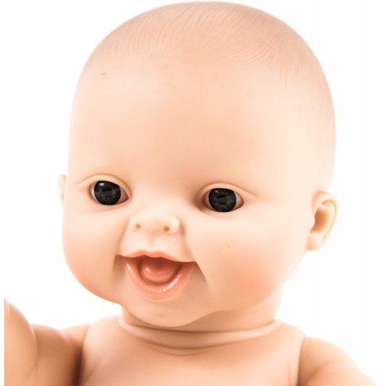 Paola Reina Gordi babypop bloot meisje lachende pop 34cm