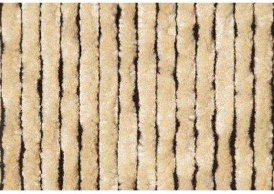 Kattenstaartgordijn 90x220 Beige Vliegengordijn