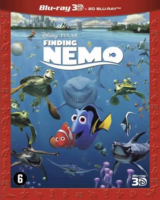 DVD cover van Finding Nemo (3D Blu-ray)