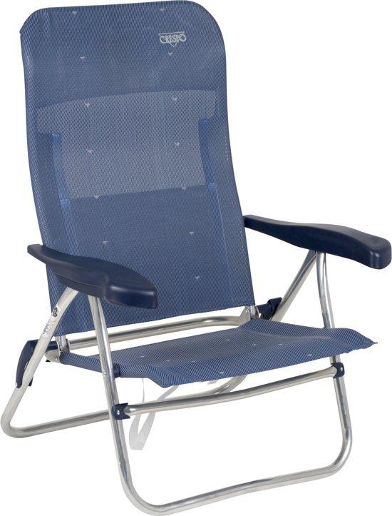 Crespo Strandstoel Aanbieding.Crespo Strandstoel Al 205 Donker Blauw 41