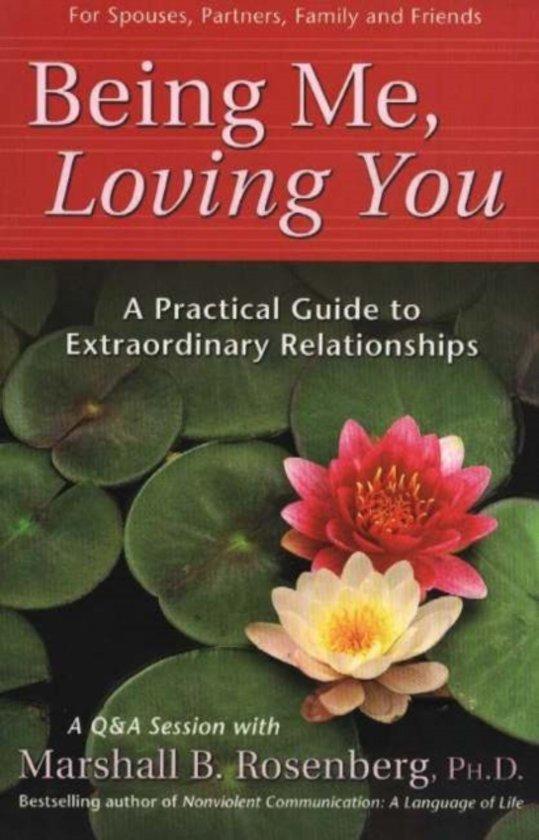 Boek cover Being Me, Loving You van Marshall Rosenberg (Paperback)