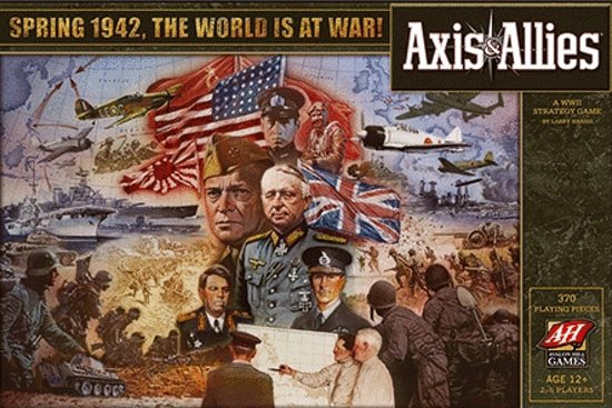 Axis & Allies Spring 1942 - The World Is At War