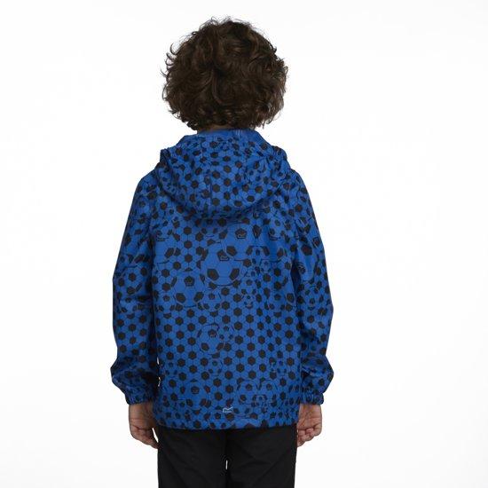 Regatta Printed Pack-It - Regenjas - Kinderen - 164 - Blauw