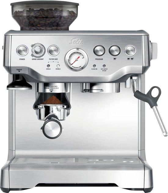 Solis Grind & Infuse Pro 115/A Pistonmachine - Espressomachine