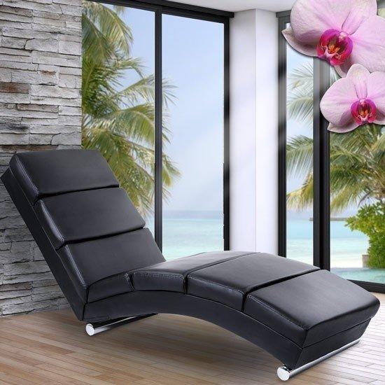 Design Ligstoel Leer.Bol Com Trend24 Relax Lounge Ligstoel