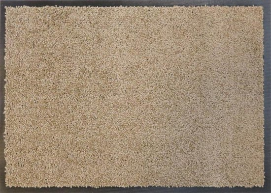 Ecologische droogloopmat taupe - 58 x 118 cm