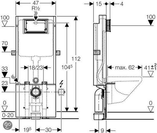 Top bol.com | Geberit Inbouwreservoir Sanbloc YL59