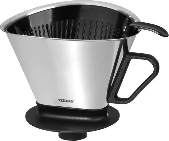 GEFU Koffiefilter - RVS - Zilver