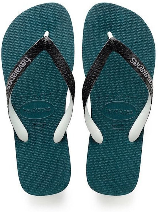 Havaianas Top Mix Slippers Unisex - Grey/Turquoise