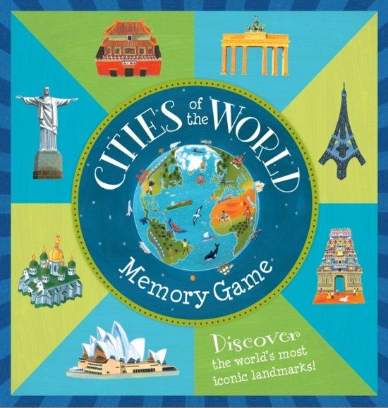 Afbeelding van het spel Cities of the World Memory Game