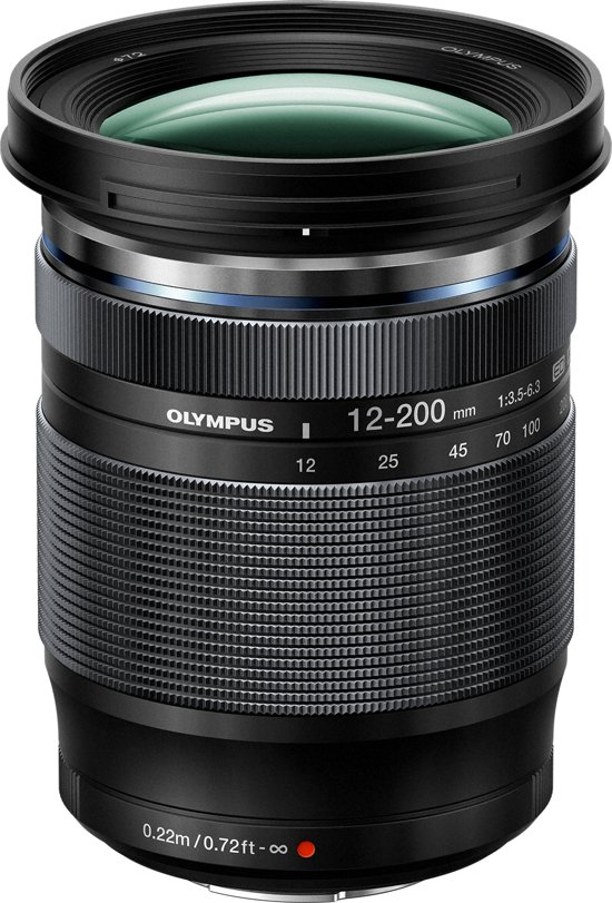 Olympus M.Zuiko Digital ED 12-200mm f/3.5-6.3 Zwart