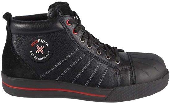 RedBrick Onyx Werkschoenen - Hoog model - S3 - Maat 46 - Zwart