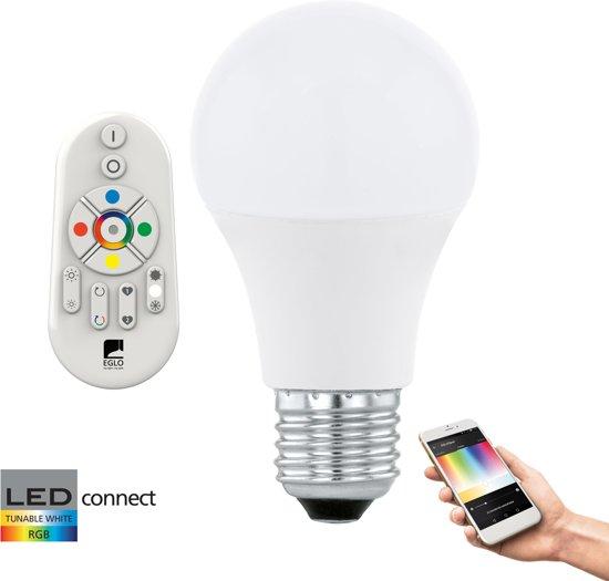 EGLO Connect - Starterspakket - Wit en gekleurd licht - E27 - 806lm