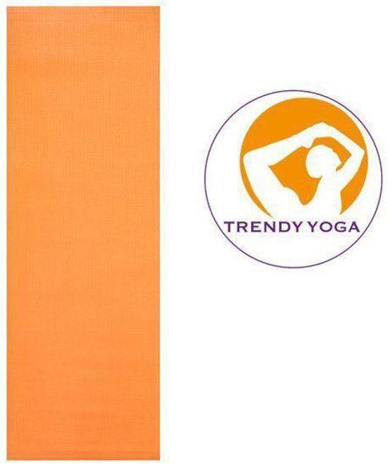 Trendy Sport - Professional Yogamat - 180 cm x 60 cm x 0,5 cm - Oranje
