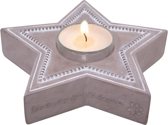 Happy-House Memory Collection Waxine Ster 15x14.5x4 cm Beige
