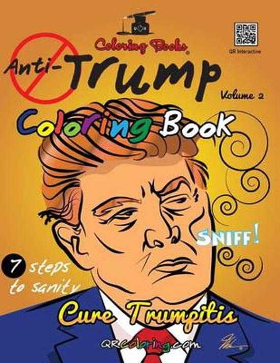 Boek cover The Anti-Trump Coloring Book van Mike Browne (Paperback)