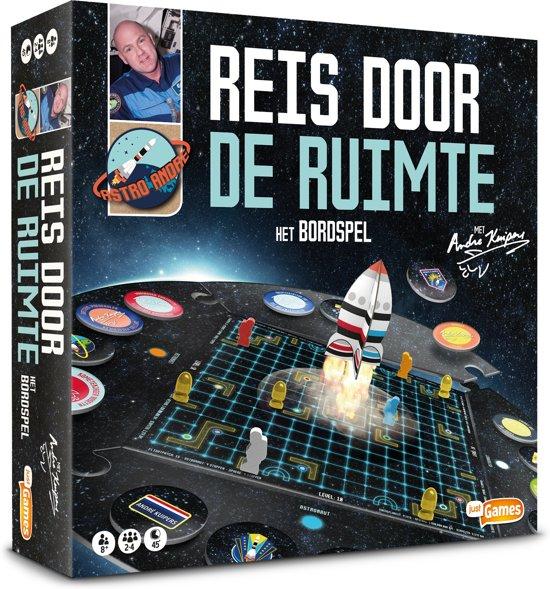Reis door de ruimte met Andre Kuipers - bordspel