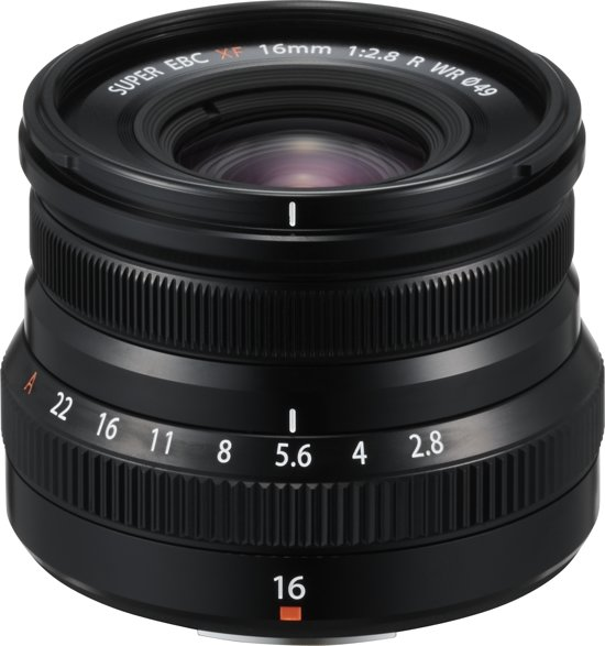 Fujifilm XF16mm f/2.8 R WR Zwart